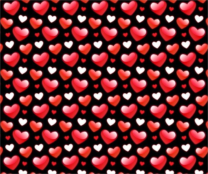 shiny valentines pattern