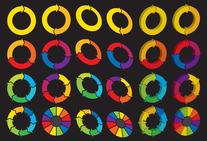 spinning wheel logos