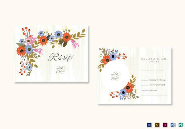 summer-floral-rsvp-wedding-card-template
