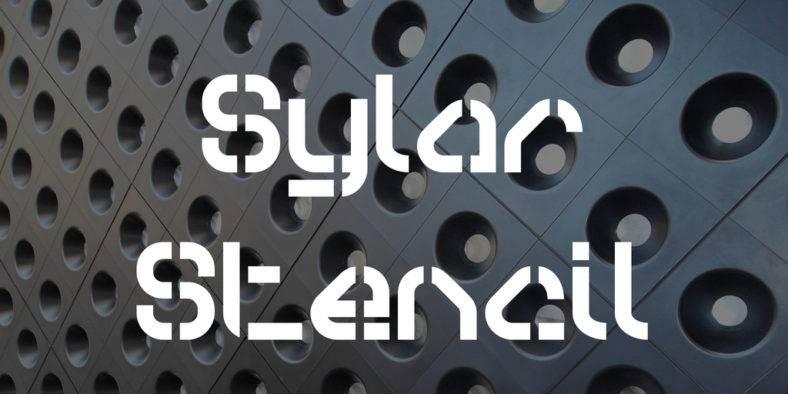 sylar-stencil