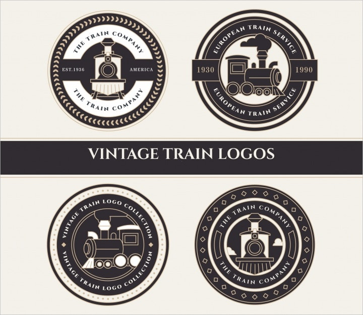 train logos