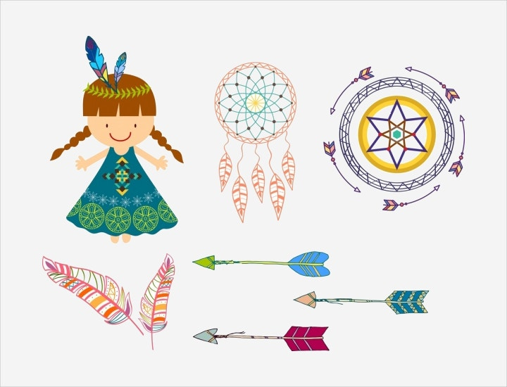 tribal design element