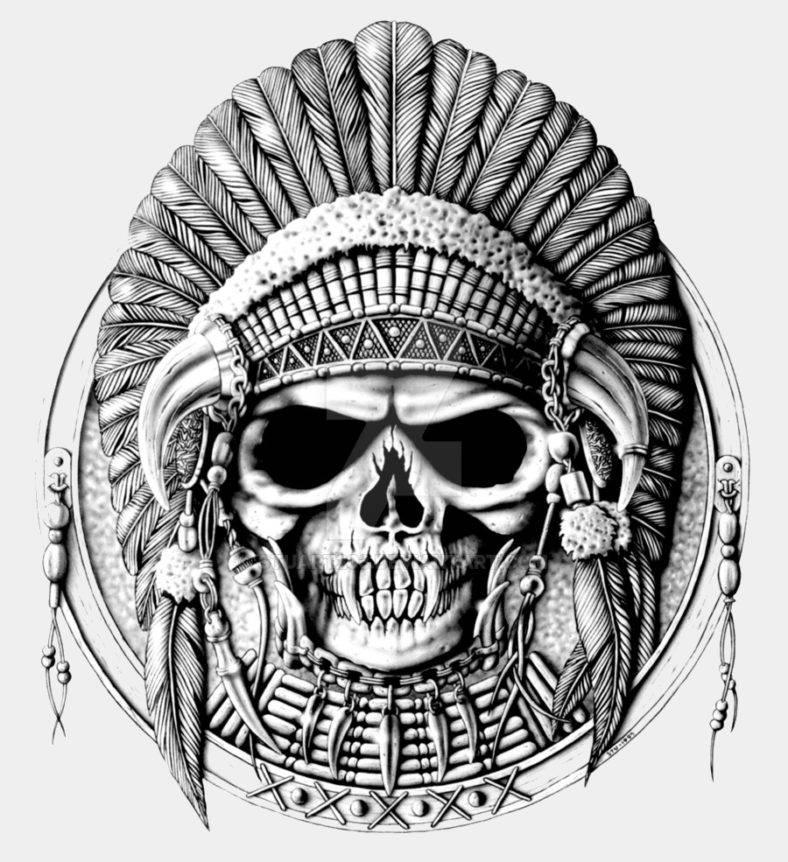 tribal skull 788x862