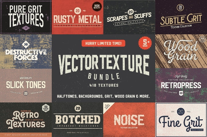 vector texture bundle