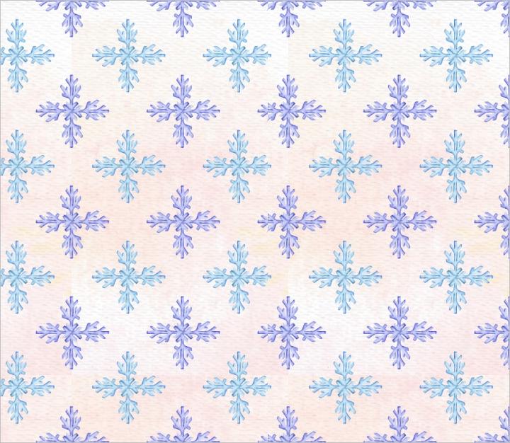 watercolor-snowflake