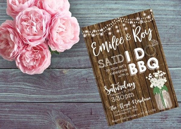 wedding celebration bbq invitations3