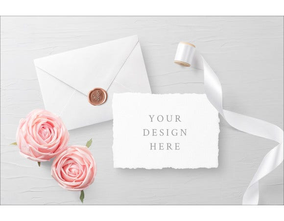 wedding invitation card envelope