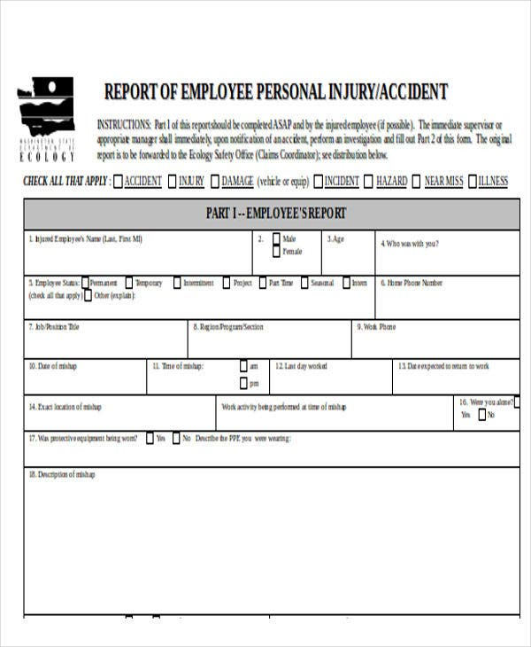 serious incident report template - 25 incident report templates in word free premium