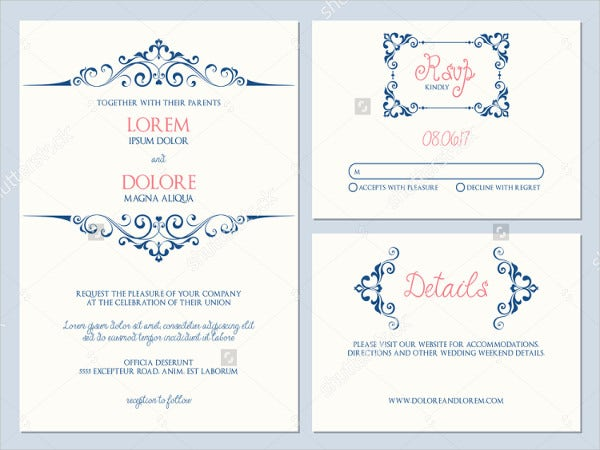 printable engagement ceremony invitation