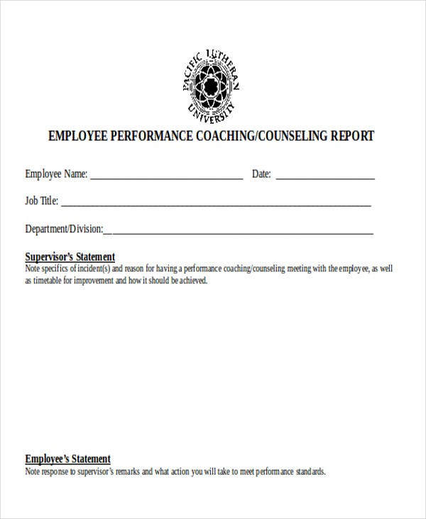 employee performance incident report1