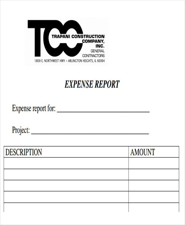 construction company expense report1
