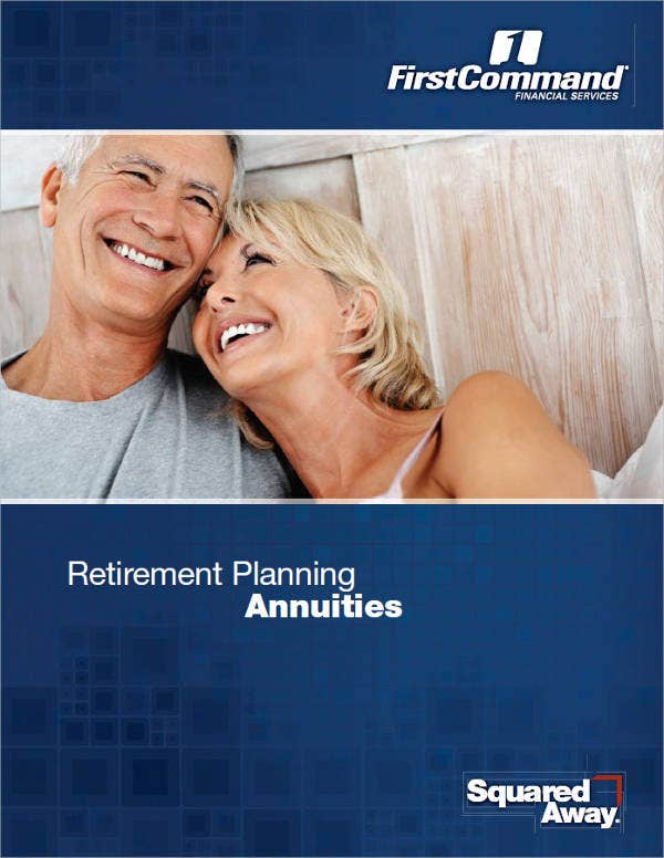 retirement event planning brochure