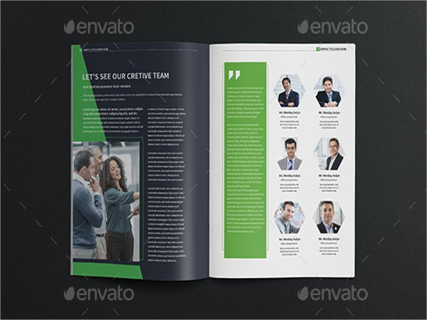 Company Brochure Templates In PSD Free Premium Templates - Company profile brochure template