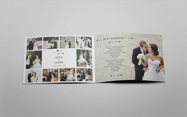 wedding event catalog brochure