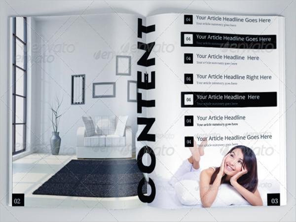 architecture company brochure psd
