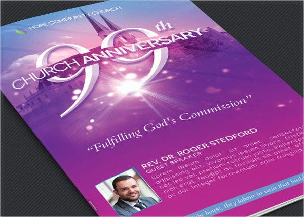 church program event brochure1