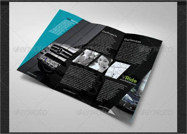 car-business-tri-fold-brochure
