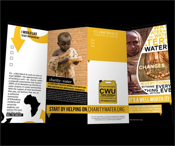 corporate-business-fundraising-brochure