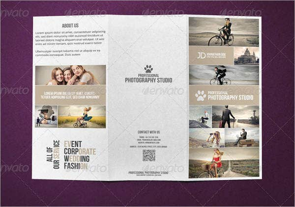 30 business brochure templates free premium templates for Photography brochure template free