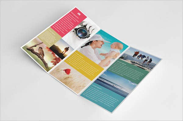photography business trifold brochure