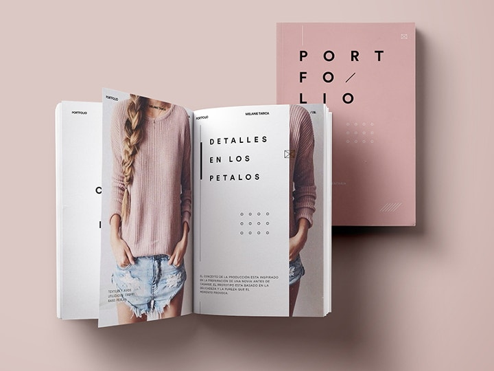 fashion portfolio design