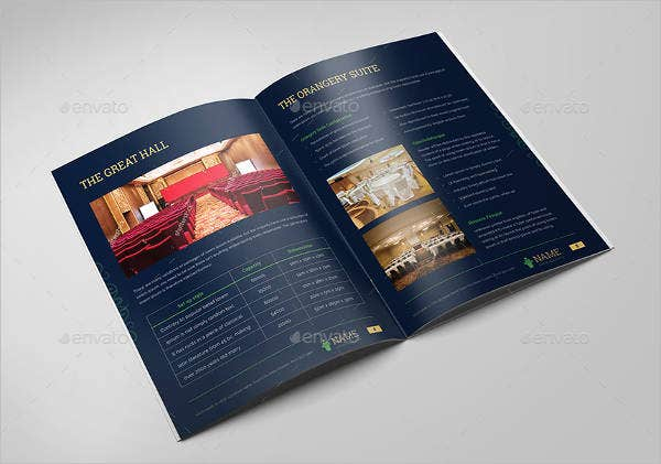 business conference marketing brochure