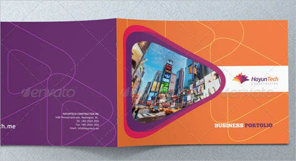 business product portfolio brochure