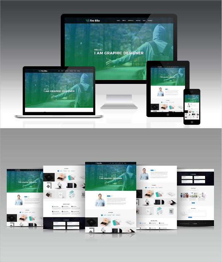 portfolio design to inspire 24 design templates to download free