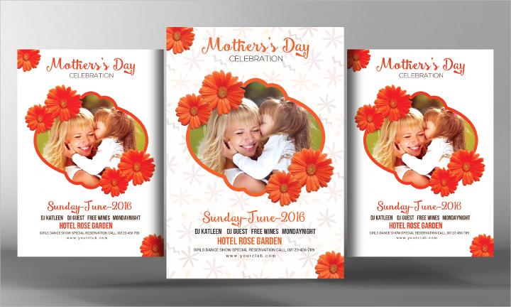 mothers-day-celebration-flyer