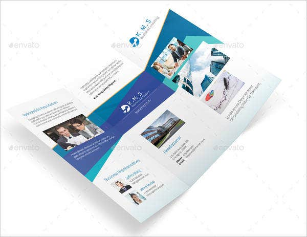 business consulting services brochure