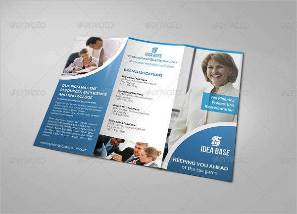 business accounting services brochure