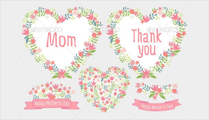 mothers-day-floral-vector-set