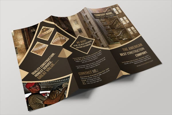 Building Construction Company Brochure
