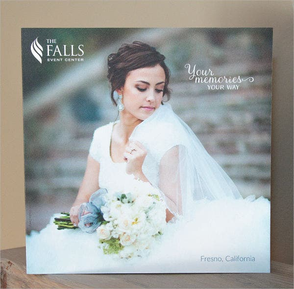 Wedding Event Company Brochure