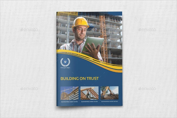 Civil Engineering Company Brochure