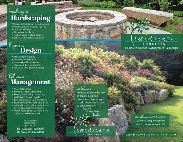 landscaping brochures thevillas co