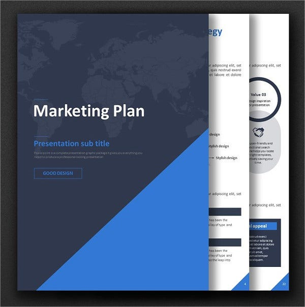 Marketing Company Plan Brochure
