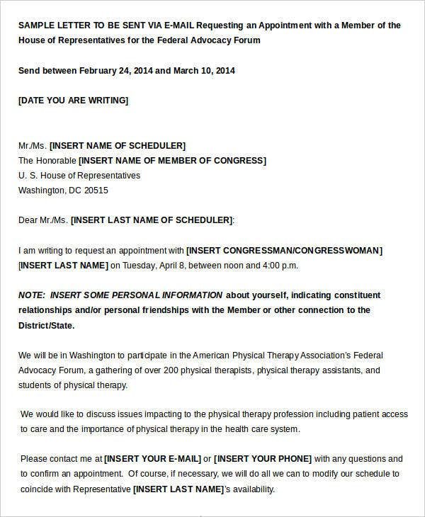 Sample Letter to Embassy