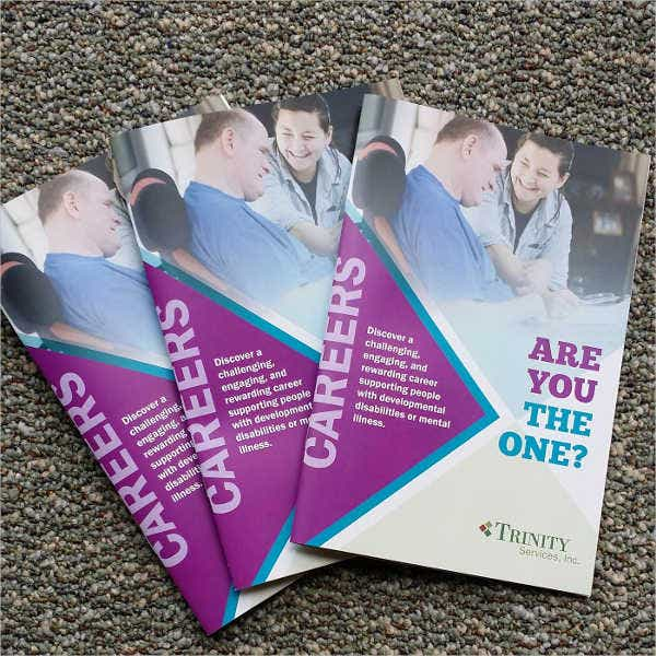 Employee Recruitment Company Brochure