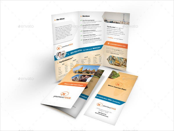 Holiday Company Tri Fold Brochure
