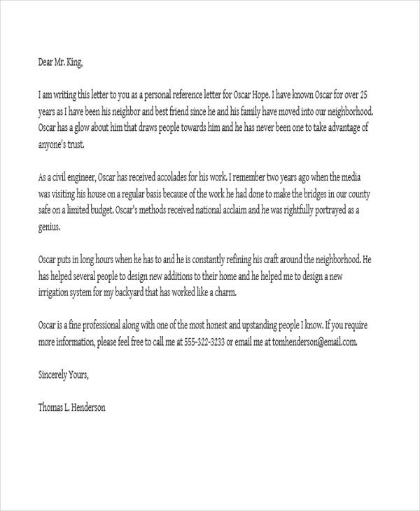 Job Reference Letter Job Recommendation Letter Sample Best Letter