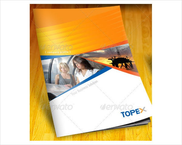 Professional Company Profile Brochure
