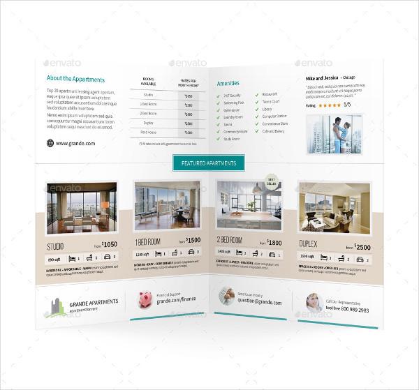 Company Bifold Sales Brochure