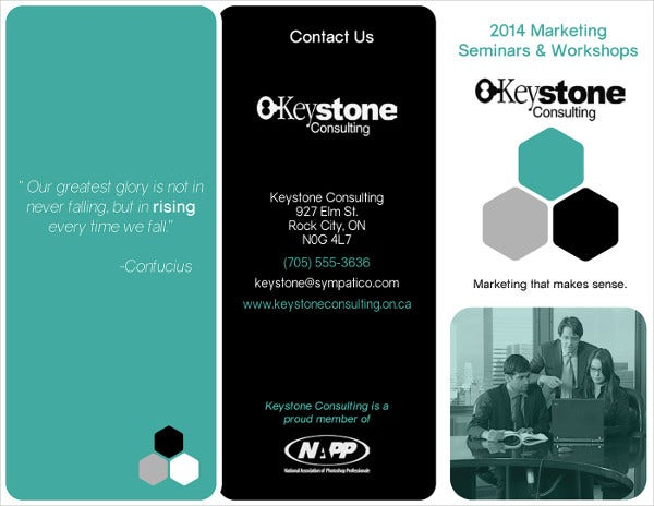 Marketing Firm Company Brochure