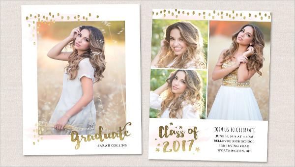10 graduation photo invitations