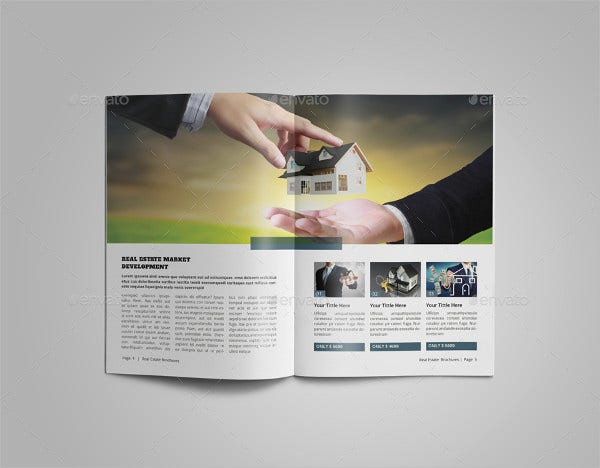 Real Estate Company Development Brochure