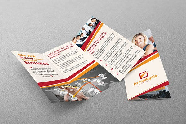 corporate marketing event brochure1