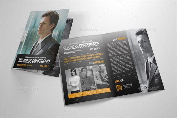business conference event brochure1