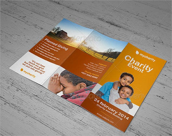 charity day event brochure1