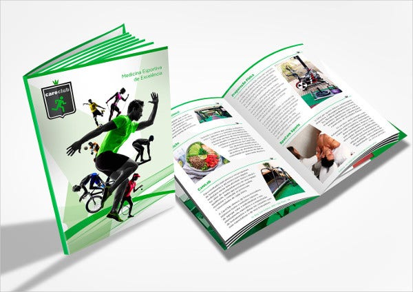 sports and health club event brochure1